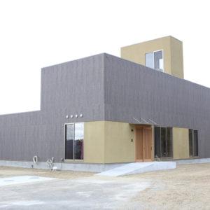 淡路島リトリートの建物